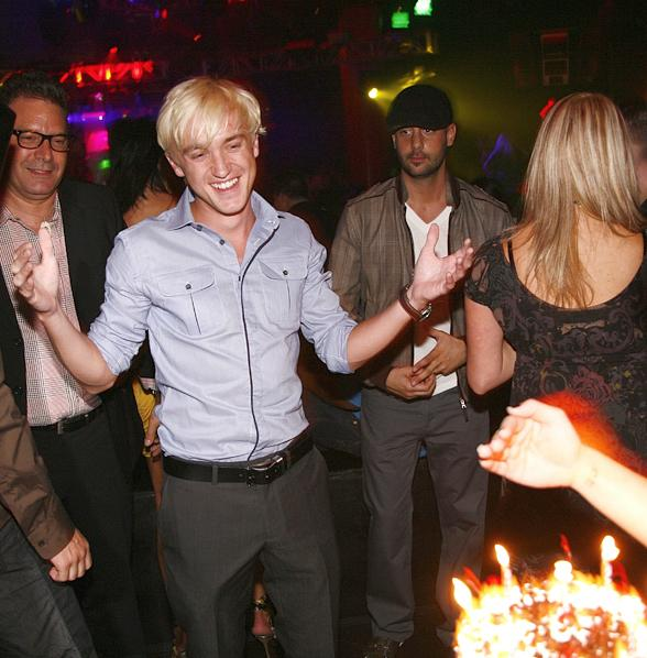 Thomas Felton and Jay Cutler at Prive