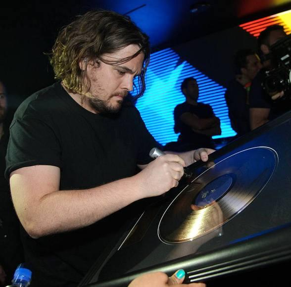 Tommy Trash with Gold Disc