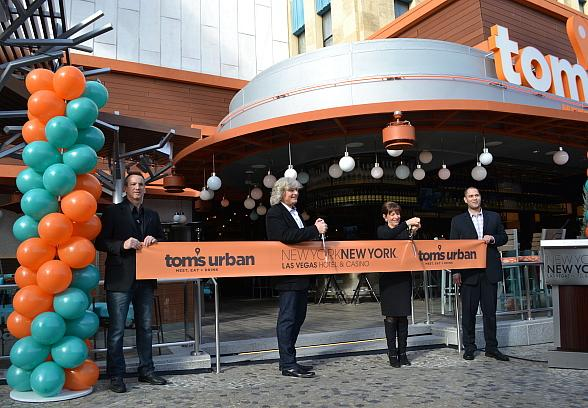 Tom's Urban Las Vegas Now Open at New York-New York Hotel & Casino