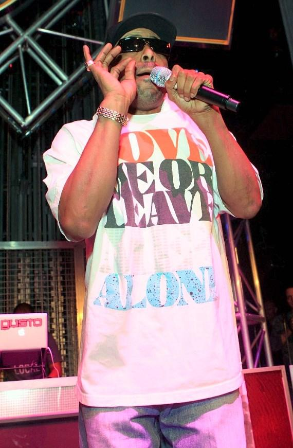 Tone Loc performing at Studio 54