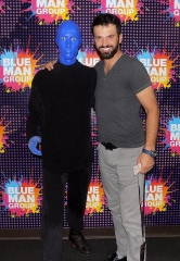 """Dancing with the Stars"" Instructor Tony Dovolani Attends Blue Man Group in Las Vegas at Luxor Hotel and Casino"