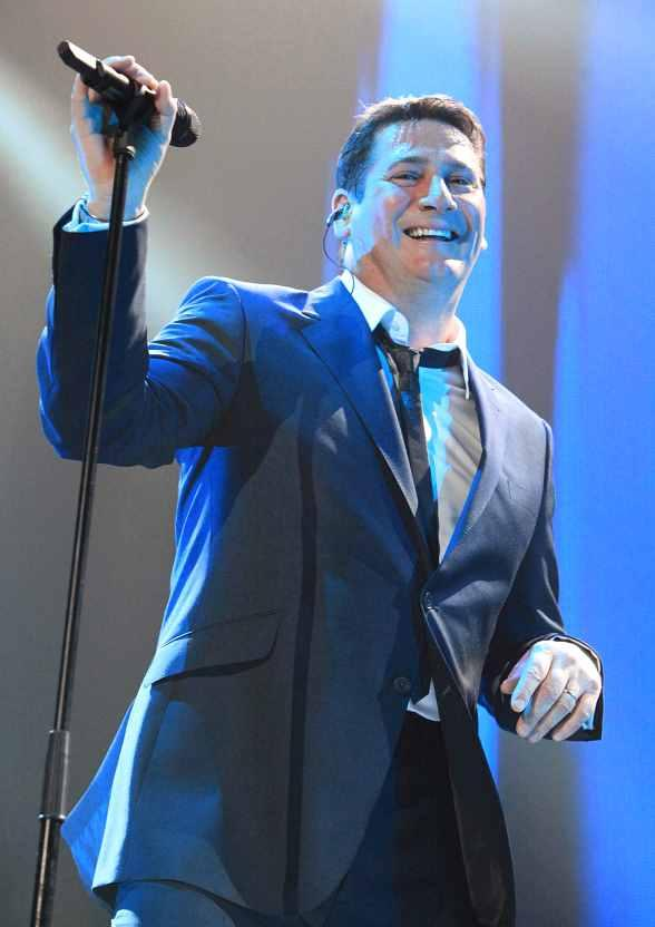 Tony Hadley of Spandau Ballet 