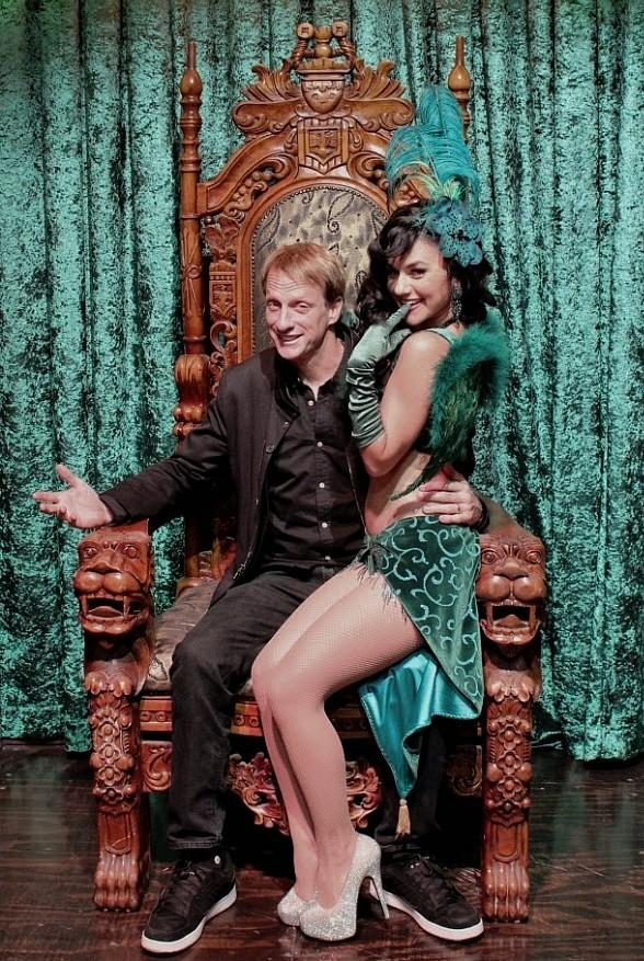 Former Professional Skateboarder Tony Hawk Attends ABSINTHE at Caesars Palace