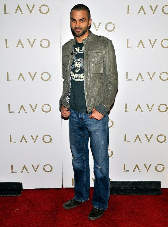 Tony Parker LAVO LV Red Carpet