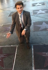 Having a Star next to The King is a Great Honor for Entertainment Ambassador Tony Sacca