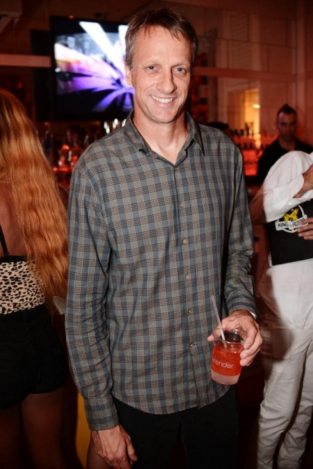 Tony Hawk and Zab Judah Party at Surrender Nightclub on Industry Night