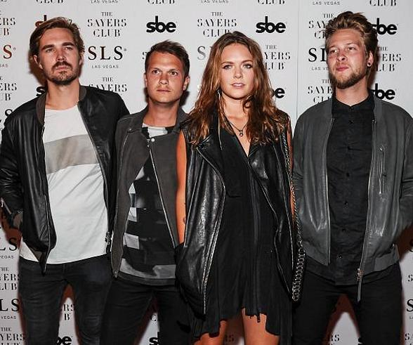 Tove Lo and band at The Sayers Club Grand Opening