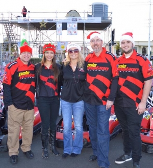 Pole Position Raceway Races Into the Holiday Spirit with Donation of 1,000 Race Passes During Holiday Toy Drive