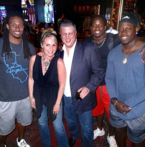 NFL Rookies Descend on the D Casino Hotel Las Vegas for July 4th Weekend