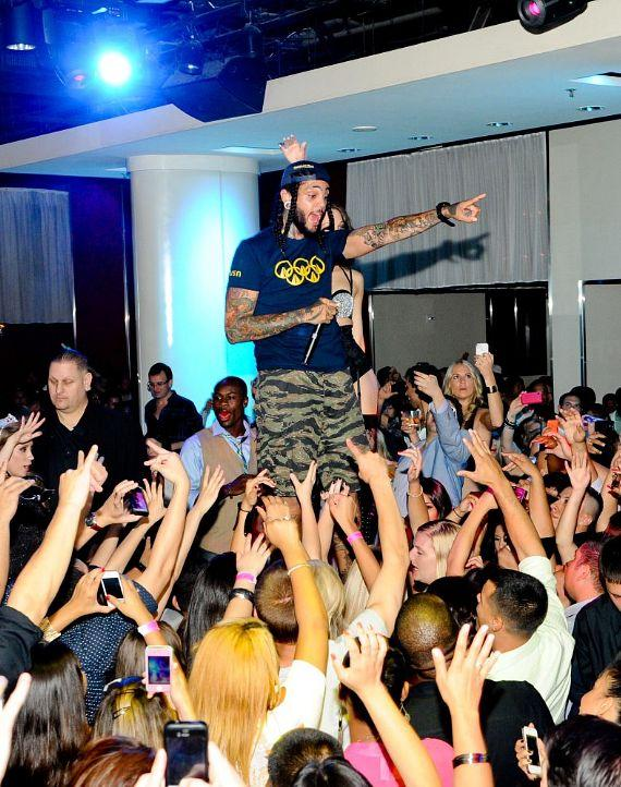 Travie McCoy performs at PURE Nightclub