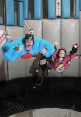 Action Sports Superstar Travis Pastrana visits Vegas Indoor Skydiving