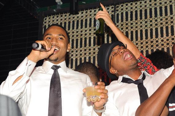Trey Songz and Ne Yo LAVO