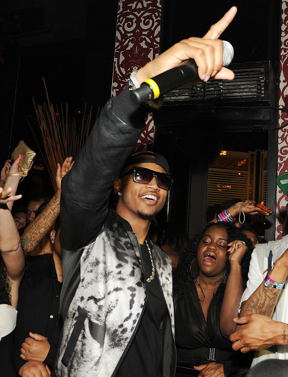 Trey Songz Performs at TAO