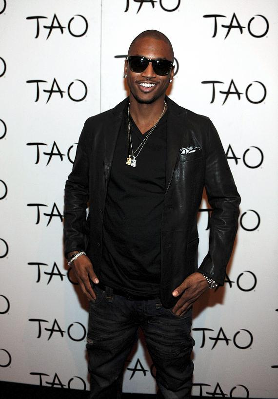 Trey Songz on red carpet at TAO Nightclub in Las Vegas