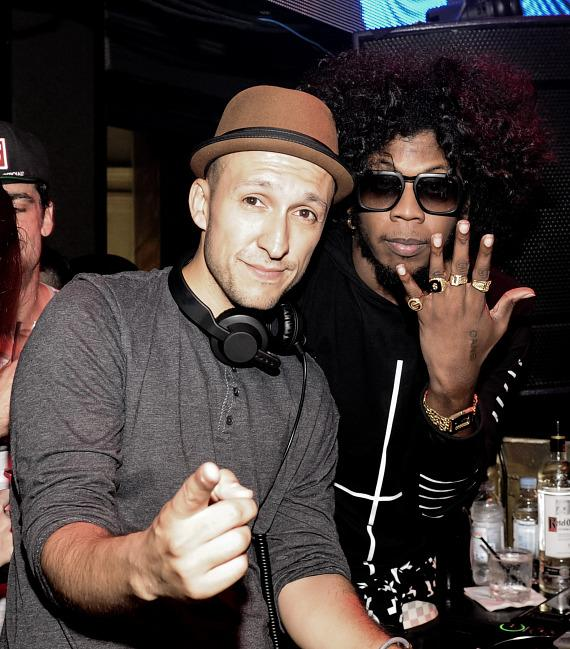 Trinidad James with DJ Vice at TAO