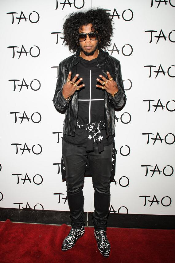 Trinidad James on red carpet at TAO
