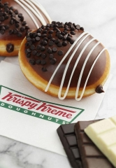 Krispy Kreme Now Offering the Decadent and Delicious Triple Chocolate Doughnut