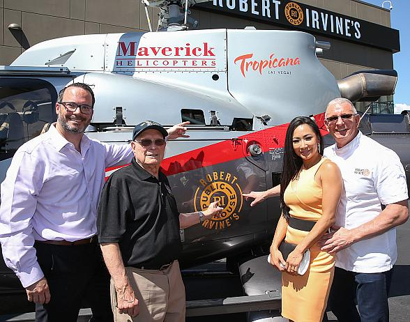 Celebrity Chef Robert Irvine Opens First Las Vegas Restaurant, Robert Irvine's Public House Inside Tropicana Las Vegas
