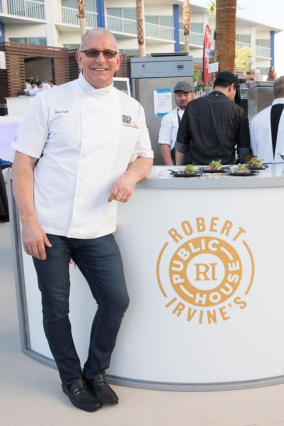 Chef Irvine announced that Robert Irvine's Public House will debut at Tropicana Las Vegas on July 27