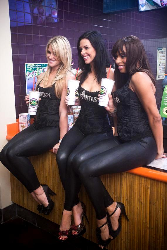 Ladies of Fantasy at Tropical Smoothie