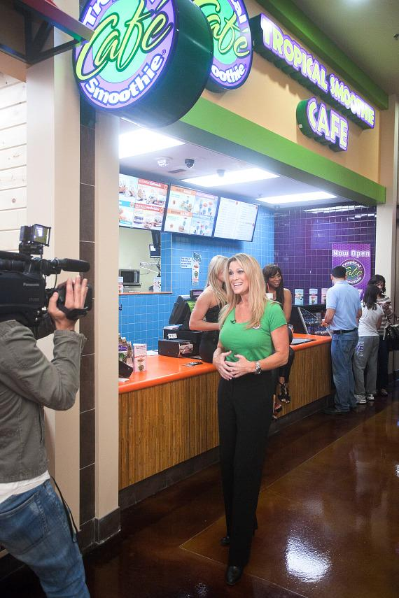 Dina Mitchell, Tropical Smoothie Café Area Developer and Marketing Director for Nevada