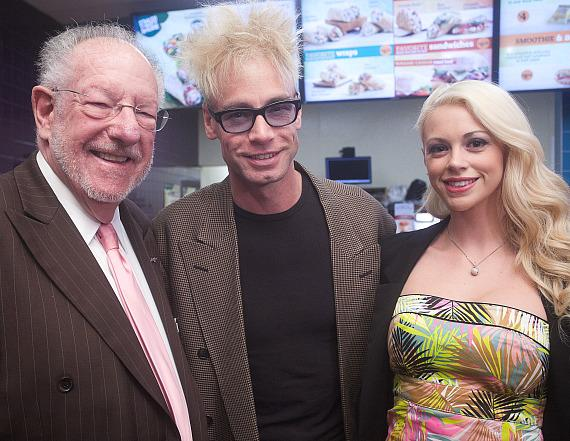 Oscar Goodman, Murray SawChuck and Chloe Louise Crawford