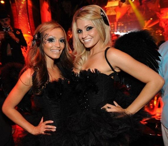 Angel Porrino hosts Angels and Devils costume party at Tryst Nightclub