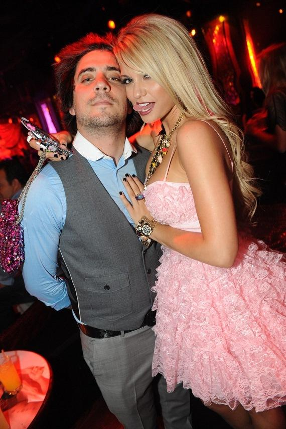 Bridget Marquardt and Angel Porrino Double Date at Tryst Nightclub