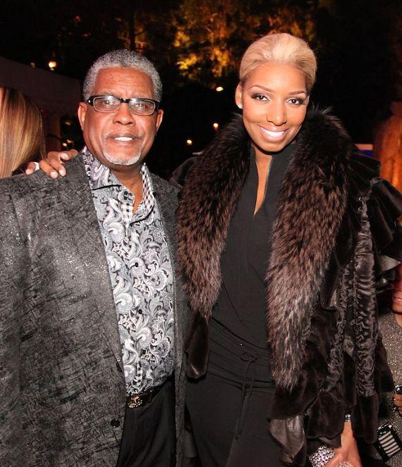 NeNe and Greg Leakes at Tryst