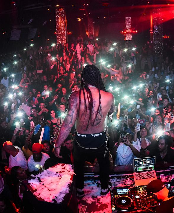 Ty Dolla $ign, Von Miller, Keenan Allen and more at TAO Thursday in Las Vegas