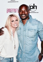 "Super Model & Chippendales headliner Tyson Beckford at ""Britney: Piece of Me"" at Planet Hollywood Resort & Casino"