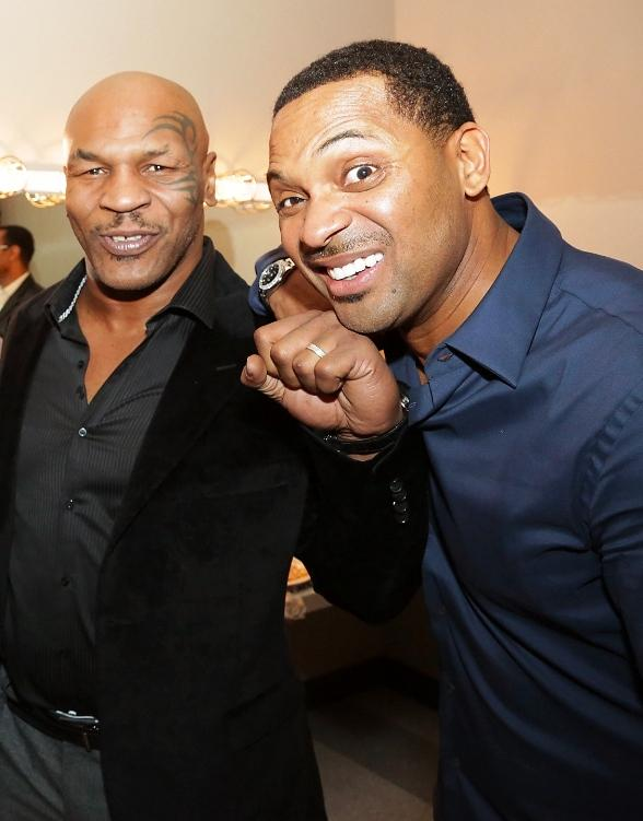 Mike Tyson with Mike Epps at The Palms Casino Resort