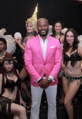 Tyson Beckford makes special appearance at House of Blues Foundation Room at Mandalay Bay