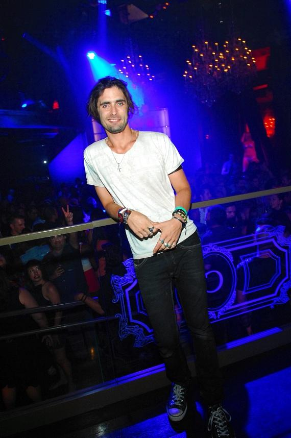 Tyson Ritter parties at Chateau
