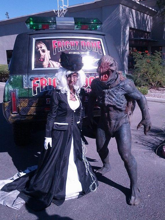 Monsters at UFC's Halloween Party