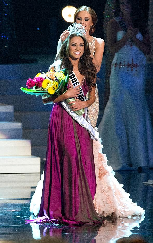 Miss Rhode Island, Olivia Culpo, Crowned Miss USA 2012 at Planet Hollywood Resort & Casino in Las Vegas