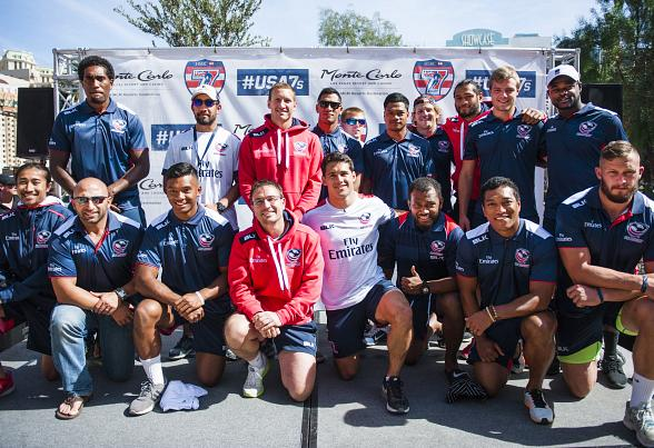 USA Sevens International Rugby Tournament Kicks Off Rugby Week with Team USA Olympic Pep Rally at Monte Carlo Resort and Casino