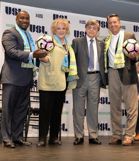 Las Vegas Joins the United Soccer League in 2018 Season