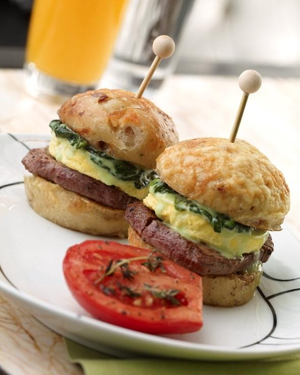Ultimate Steak and Egg Sliders