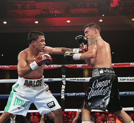 Valdez vs Avalos, Sept 11, 2015, The Cosmopolitan of Las Vegas