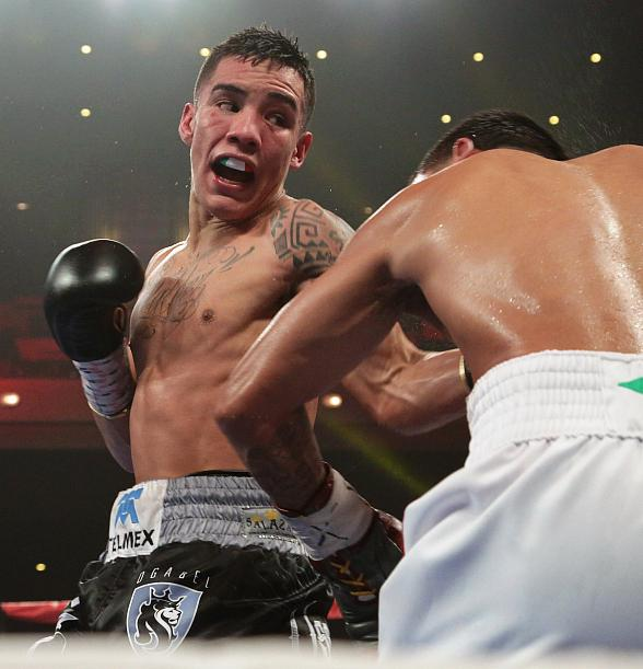 Two-Time Mexican Olympian Oscar Valdez has Dynamic Performance at The Cosmopolitan of Las Vegas