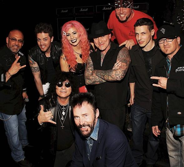 Forrest Griffin, Zak Bagans, Jeremy Spencer, Kevin Mack, Horny Mike, Roli, Dirk Vermin, Lance Burton, Jason Egan, Paul Shortino, SEXXY and FANTASY help raise $50,000 for NSPCA