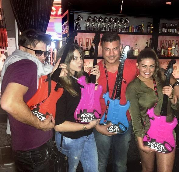 """Vanderpump Rules"" Cast Members Celebrate at PBR Rock Bar & Grill"