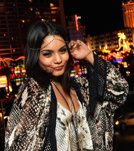 Vanessa Hudgens at PURE Nightclub