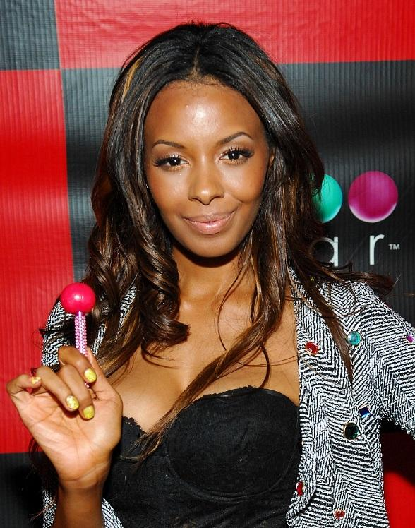 Vanessa Simmons enjoying a Couture Pop at Sugar Factory