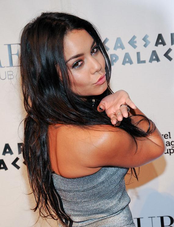 Red Carpet: Vanessa Hudgens Hosts at PURE Nightclub at Caesars Palace