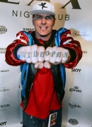 Vanilla Ice kicks off Throwback Thursdays at LAX Nightclub; Flavor Flav in Crowd