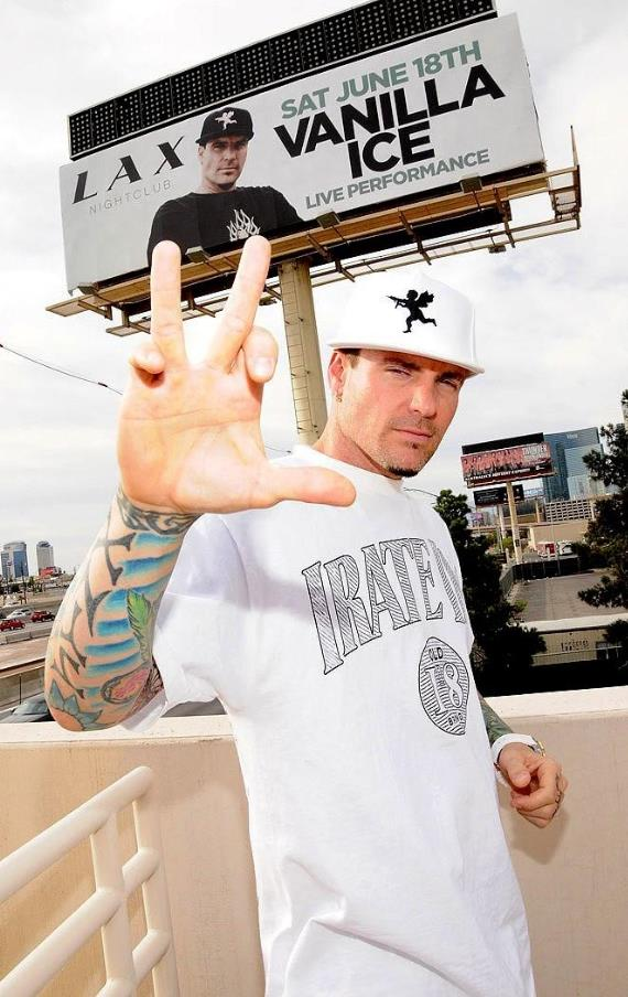 Vanilla Ice in Las Vegas