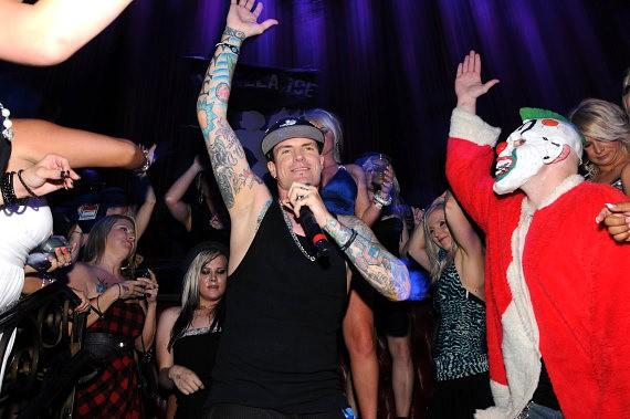 Vanilla Ice performs at LAX Nightclub at Luxor Hotel in Las Vegas