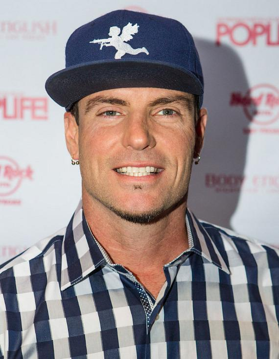 Vanilla Ice on red carpet at POPLIFE in Body English Nightclub at Hard Rock Hotel Las Vegas